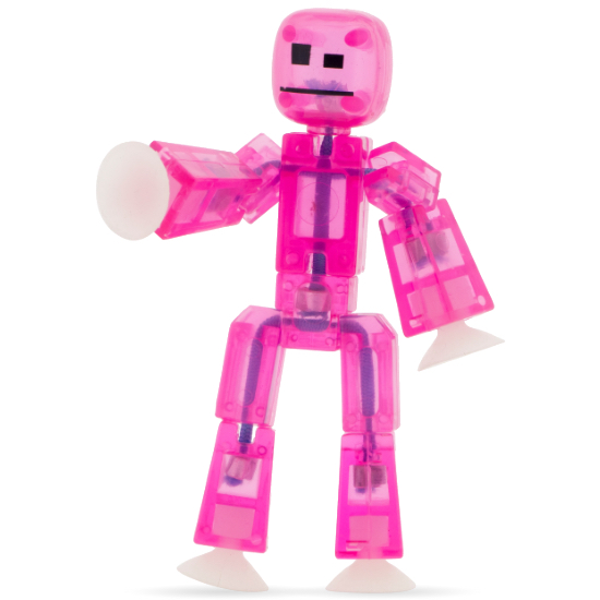 Stikbot Clear Pink