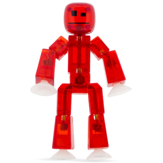 Stikbot Clear Red